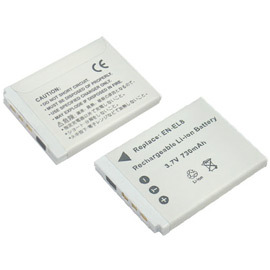 加送卡片收納盒~ROWA•JAPAN~Nikon 相機 充電式鋰電池 EN~EL8 ENE