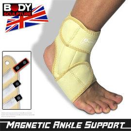【BODY SCULPTURE】磁波護腳踝.運動.護具 Q30-2