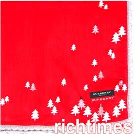 Burberry聖誕領巾∼粉美哦^!BB0533~1