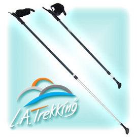 LA鋁合金登山杖*2入.露營用品.戶外用品.登山用品.野營.休閒 J12-4