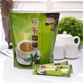 綠茶咖啡^(30gx15入 包^)^~也是抹茶咖啡,讓您一次擁有兩種享受~