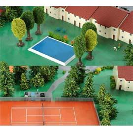 HE520379 網球場/游泳池 Swimming Pool/Tennis Court (1/500)