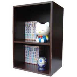 【愛家】二格間隙收納櫃/書櫃(三色可選)-W402T-1