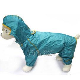 R~DAB狗狗外出精緻雨衣 藍紅兩色 防風雨衣L號