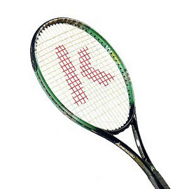 【KAWASAKI】YOKOHAMA1300 網球拍.運動.健身.壁球 P046-KTC1300S
