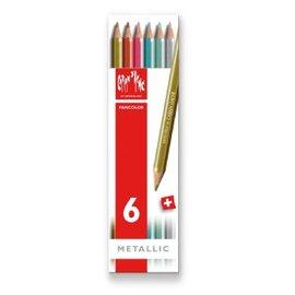 瑞士 CARAN DACHE卡達水溶性色鉛筆金屬色~12883