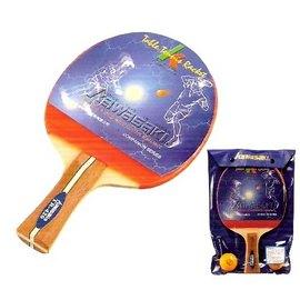 【KAWASAKI】乒乓球420A刀板桌球拍.運動.健身.乒乓球 P046-KPW420A