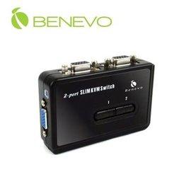 BENEVO BKVM102UA UltraKVM桌上型 2埠USB VGA KVM多電腦
