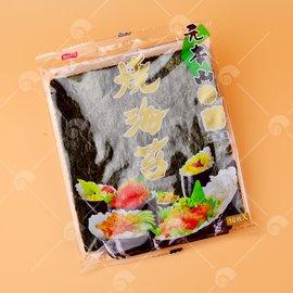【艾佳】菊燒海苔10枚入/包