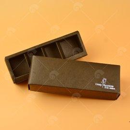 【艾佳】巧克力包裝盒(可裝4入)/個