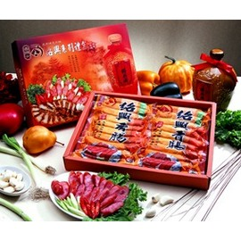 紹興香腸原味+黑胡椒禮盒