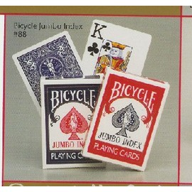 BICYCLE 808 撲克牌 POKER JUMBO INDEX 1付
