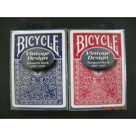 撲克牌 BICYCLE 808 復古 Vintage TANGENT 背紋
