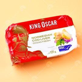 【艾佳】奧斯卡國王鱈魚嫩肝121g/罐