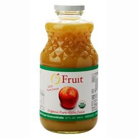 鮮綠有機 館~歐芙100^%有機純蘋果原汁~3瓶入^(買果汁送瀉鹽^!^)