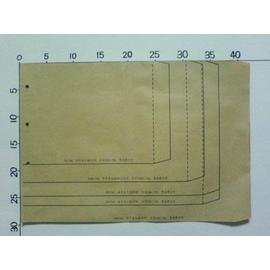赤牛皮6K加大信封也當成公文袋30.5^~22cm^(500個入^)