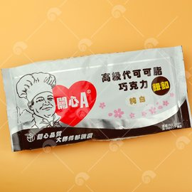 【艾佳】關心A高級巧克力-純白500克(代可可脂)