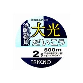 ◎百有釣具◎太平洋POKEE 大光  500M 母線 規格1.0~4號 (咖啡色/白色)~特殊含氧抗UV加工處理,強化線質拉力