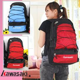 KAWASAKI 透氣背包 P043-KA003.背包.包包
