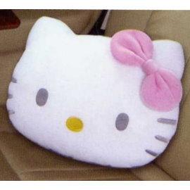 HELLO KITTY凱蒂貓頭型抱枕 (超細棉絨布.專利授權)