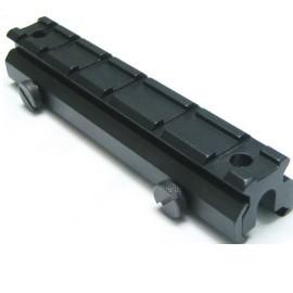 全金屬狙擊鏡、內紅點 加高20mm型~寬軌鏡座