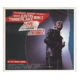 賈斯汀 Justin Timberlake  愛上賈斯汀影音專輯 I^`m Lovin^`