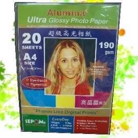 Alumina亮晶晶 190g 超光防水相紙