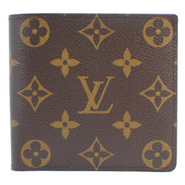 Louis Vuitton LV M61675 Monagram 花紋短夾 停產 價 17