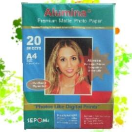 Alumina A4 珍珠面相紙 20 張  240g