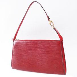 【9成新】Louis Vuitton  M5194E 紅色水波紋EPI晚宴包~已絕版