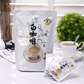 白咖啡^(25gx15入 包^)^~馬來西亞中部怡保市特產,100^%白咖啡純正原味~