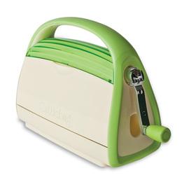 Cuttlebug紙藝機~2011 主機~綠色麵包機~加贈 大片浮雕模^~1片