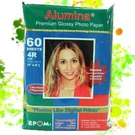 Alumina 4 x 6 亮面相紙 60 張  240g(二包入)