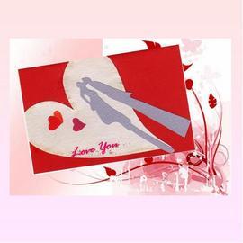 手工卡片【KissMe。LoveYou】