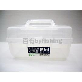 ◎百有釣具◎小集合 MINI K-711手提工具箱