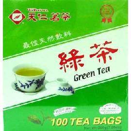 天仁GRTB100Y綠茶100包 盒^(防潮包^)