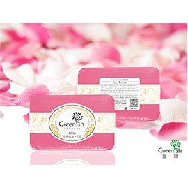 ~唯綠 Greenish~玫瑰精油 皂 100g ^| 高效保濕、淡化細紋、延緩肌膚衰老^