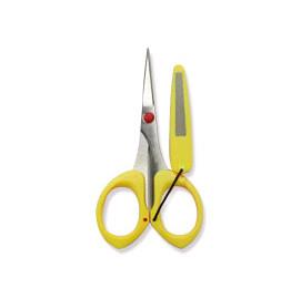 ◎百有釣具◎CW013-T 不鏽鋼 4.7寸 專用釣魚剪刀 (附銼刀套)
