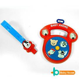 愛兒房-玩具電話(Baby推車.嬰兒床.汽座吊掛玩具)