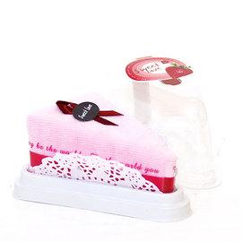 【花現幸福】草莓蛋糕毛巾出清價50元