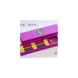 ~ST~03A三色開運線香組~ 250買2盒送1盒,每束37支^~3種 111支,開運招財