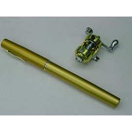 ◎百有釣具◎溪釣專用 鋼筆釣竿組(鼓式)~ 小巧、精致,攜帶極其方便
