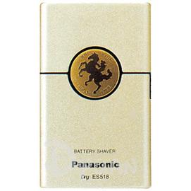 PANASONIC 國際牌卡片型電鬍刀 ES~518~N ^(金色^) ^~^~^~ 免