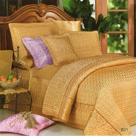 Alice Balen皇朝帝宴[5.0呎x6.2呎]雙人八件式鋪棉床罩組(三色可選)-AB801-M
