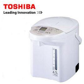 TOSHIBA東芝4.5L光節電3種保溫溫度選擇熱水瓶PLK-45SFGN **免運費**