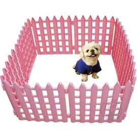 寵物塑膠圍欄2種顏色•~高44公分^~10片~小型犬