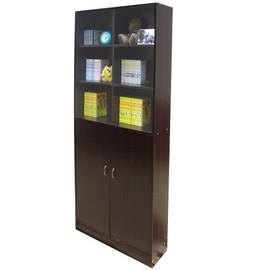 W122G012格^~雙門^~收納櫃 書櫃^~二色供選擇^~