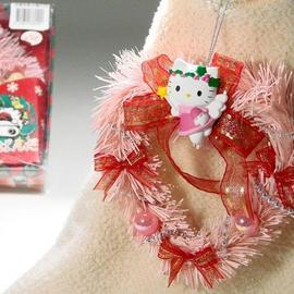 【X'mas】SANRIO卡通聖誕小花圈