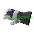 ㊣HanSafe網路量販店㊣(安全衛生)簡易型工作手套【手心牛榔皮、手背帆布、適合各種搬運工作】