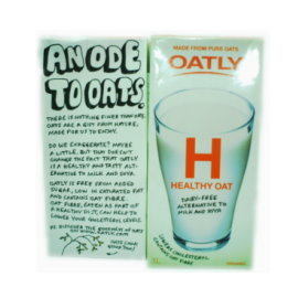 Oat Drink 有機歐特力燕麥奶~原味^~瑞典世界品牌
